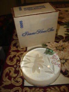 """"""" MARKED DOWN """"  ~ PRINCESS HOUSE CRYSTAL PAPERWEIGHT  -  $29.99"""