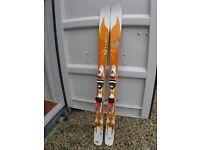 Rosignol Bandit B3 ladies skis with bindings.