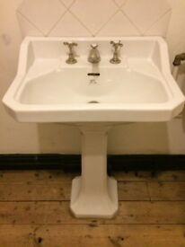 Lefroy Brooks bathroom sink