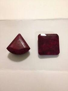 Huge Rubies - Natural Gemstones - 228ct & 160ct Sydney City Inner Sydney Preview