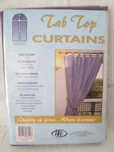 Purple Sheer Tab Top Curtains. Morayfield Caboolture Area Preview