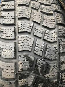 Ford Edge  Steel Rims With Excellent Avalanche Winter Tires