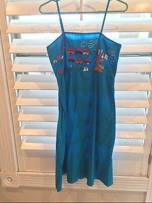 Mexican Oaxacan Embroided dress Cinco De Mayo Festival - Cinco De Mayo Kleider
