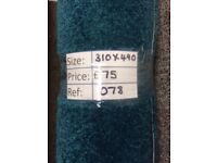 Carousel Carpet Remnant (3.10 x 4.90m) for £70 - REF: 078