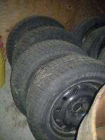 60R16 Winter tires, used for 1 winter only. $150 each.