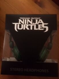 Teenage Mutant Ninja Turtles Headphones *** Reduced ***