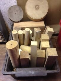 Blanks for wood turning