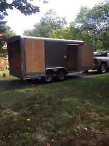 7x14ft Enclosed Trailer