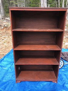Boot or storage shelves