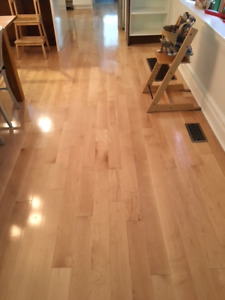 Mercier Maple 3/4 X 4 1/4 Semi Gloss Solid Hardwood Floor