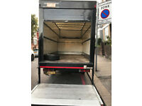 Tail Lift Luton Van with Man Long SHORT any distance no problem Low REMOVAL Removing hire rent rates