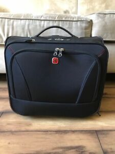 Swiss Business Carry Size Wheeled Briefcase