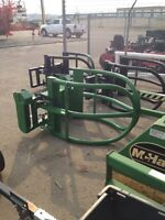 Round & Large Square Bale Grabs