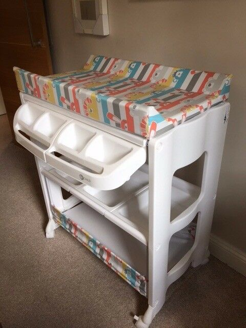 My Child Peachy Changing Unit 2016 with Bath (RRP £99.99)