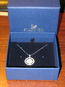 Swarovski Round Reversible Pendant Necklace