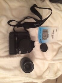 Canon 400D Digital camera with 18-55mm lens and 2.0 memory card £ 120