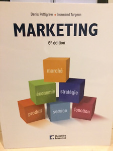 Marketing 6e Édition - Pettigrew et Turgeron