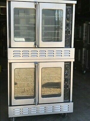 American Range Nat. Gas Double Stack Convection Ovens