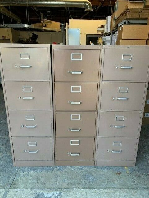 3-Legal Size filing Cabinets - 2 HON brand