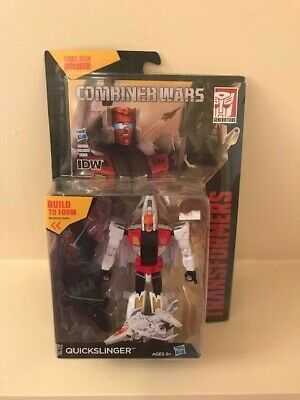 TRANSFORMERS COMBINER WARS QUICKSLINGER ACTION FIGURE WITH IDW NEW HASBRO
