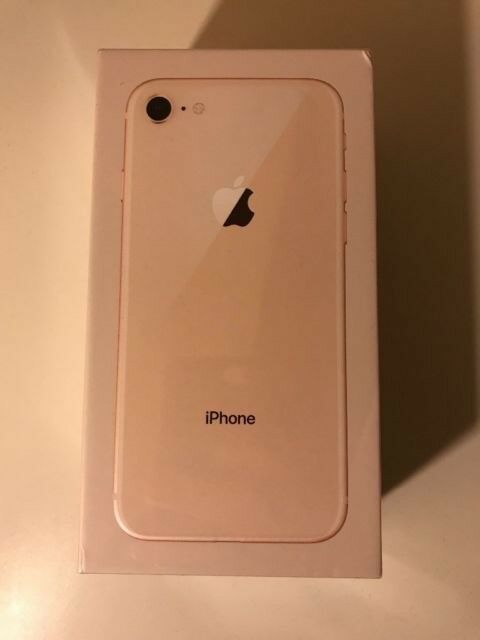 iphone 8 gold. brand new iphone 8 64gb gold in box iphone -