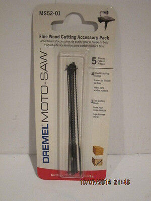 Dremel Moto-saw Fine Wood Cutting Blade Ms52-01 5-pack Free Shipping Nisp