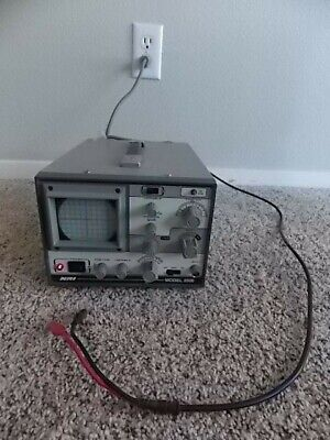 Vintage Nri Model 2500 Oscilloscope