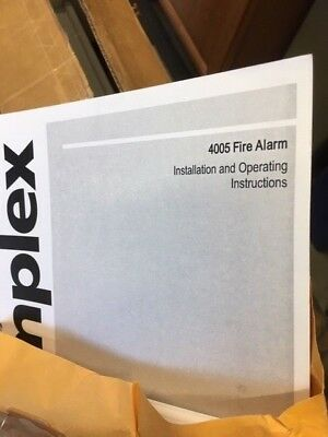 New In Box Simplex 4005-9101 Fire Alarm Panel 8 Idc 4 Nac Alarm Panel Nib-new