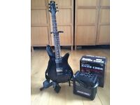 Spector guitar and micro cube
