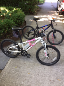 MEC Mountain Equipment Co-op.  2 Kids bikes for sale.