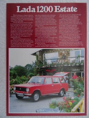Lada 1200 Estate brochure 1978