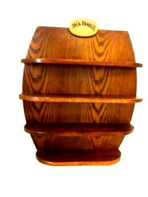 Vintage Jack Daniels Shot Glass Wood Shut Glasses Display