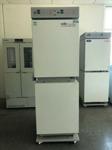 Nuaire NU-8700 Autoflow IR Water Jacketed CO2 Dual Stacked Incubator