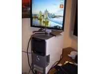 COMPUTER DELL DIMENSION 5100 3GHZ P4, 2GB RAM, 80GB HDD FRESH INSTALL WINDOWS 7, M'SOFT ANTIVIRUS