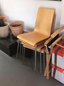 Stackable Chairs Quantity 4