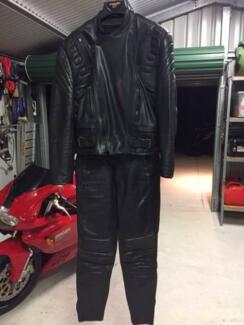 Motorcycle Leather Jacket & Pants Glen Forrest Mundaring Area Preview