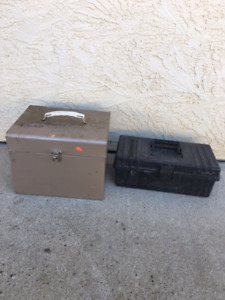 Tool boxes, skill saw or router box
