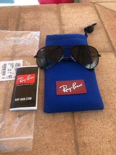 Junior Ray ban Aviator sunglasses Black with Grey Gradient lens