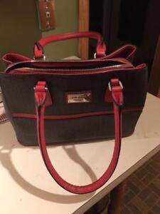 GUESS Purse - Never Used, Black and Red
