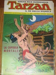 Vintage italian language Comic TARZAN # 63 feb 1973 Russ Manning E R Burroughs - Bergamo, Italia - Vintage italian language Comic TARZAN # 63 feb 1973 Russ Manning E R Burroughs - Bergamo, Italia