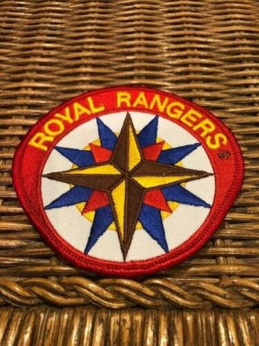 ROYAL RANGERS Big Patch Embroidery Vintage