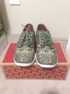 VANS ISO 2 (Moroccan Geo) Ivy Green + ULTRACUSH!! $100