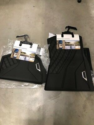 X5 BMW 2019 OEM BLACK ALL WEATHER MATS FRONT AND REAR 4 PIECE SET