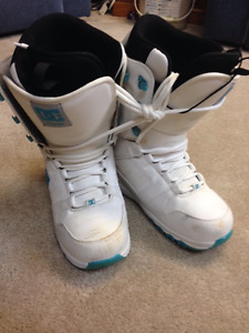 Snowboard boots Unisex White Size 9/10 (Adult)