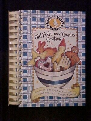 Gooseberry Patch Old-Fashioned Country Cookies Cookbook 5th Printing 61714