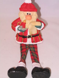 Handcrafted Santa Claus Father Christmas Doll / Ornament