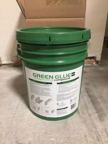 Green Glue Damping Compound -  5 Gallon Pail Bucket