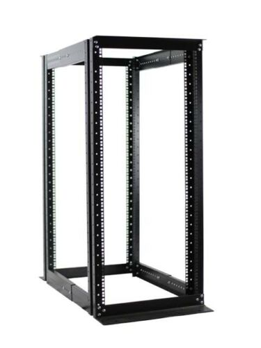 "New 27U 4 Post Open Frame Data Network Server Rack Enclosure19"" Adjustable Depth"
