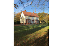 Edwardian 5500 sq ft 6 bedroom House , Thorpe Market, 3 acres of land for holiday / short term let