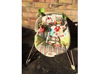 Reclining Chair Soothing Music Vibration with Toys